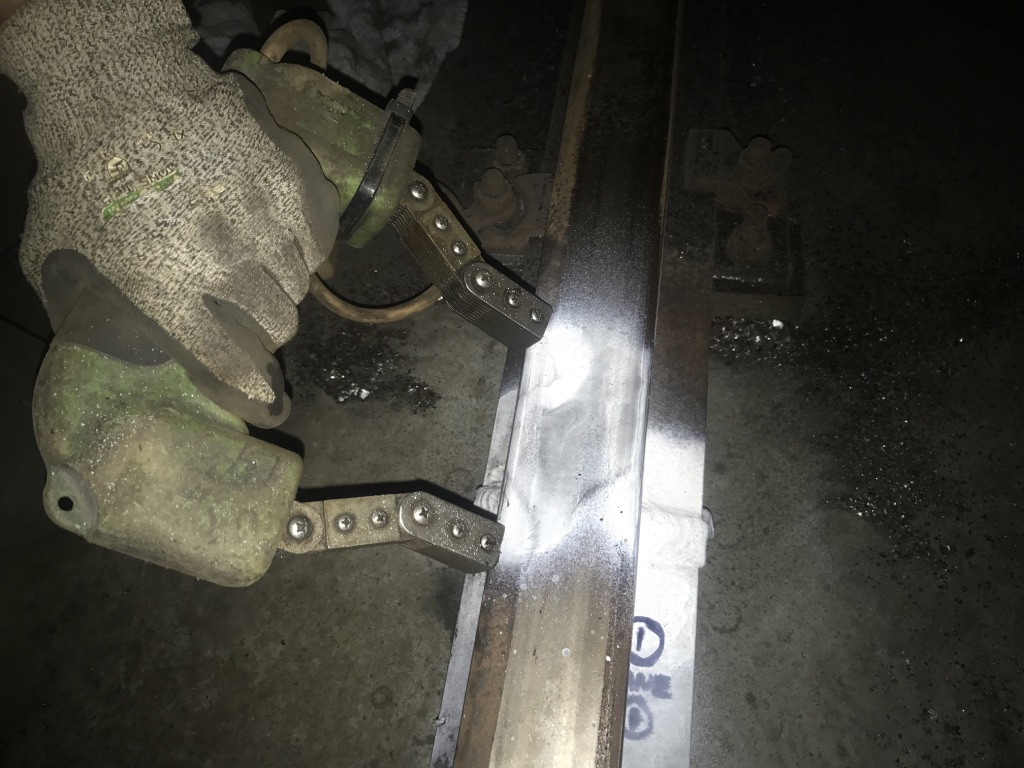 Rail and repair inspections